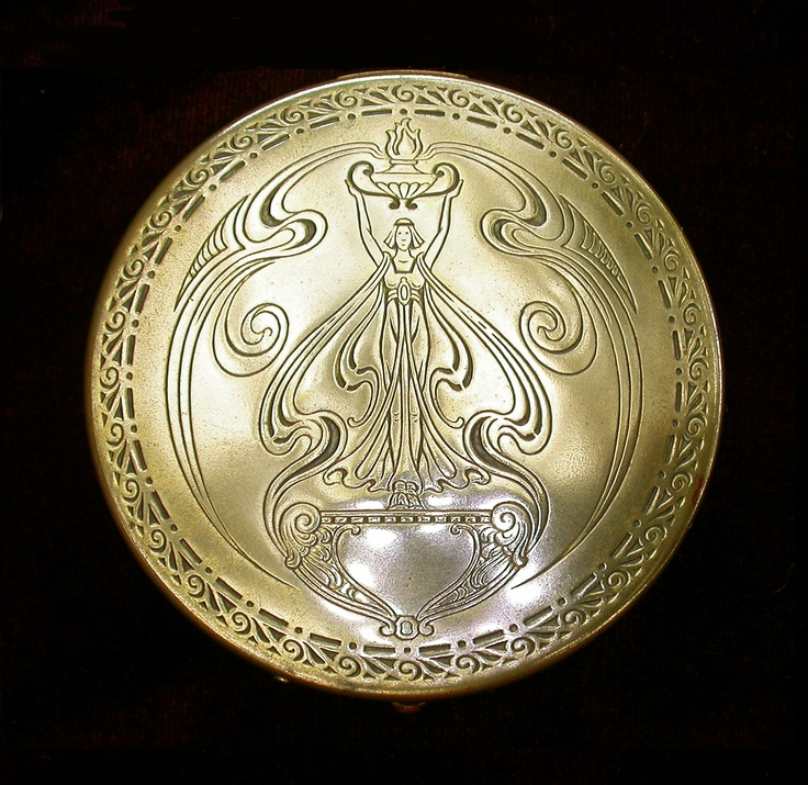 1000 Images About Art Nouveau Compacts On Pinterest