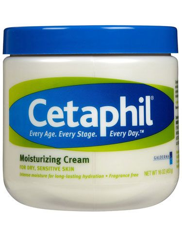"""Anamaria Wilson, Fashion News/Features Director  """"I have dry, sensitive skin and Cetaphil is the only cream that does the trick without further irritating it. There's no oily residue, you're just left with a dewy visage.""""    Cetaphil Moisturizing Cream, $13, drugstore.com.        Read more: Drugstore Beauty Products -Best Drugstore Beauty Products of 2012 - Harper's BAZAAR"""
