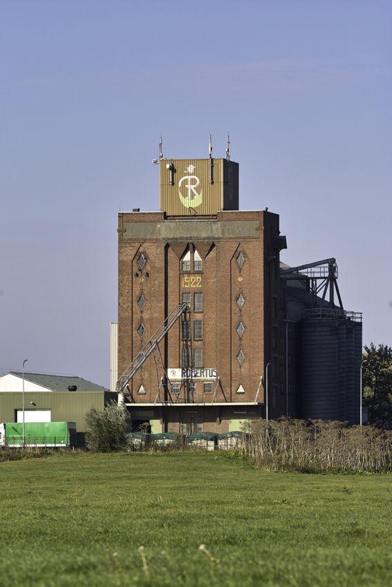 industrial heritage, graansilo Robertus, Winschoten, the Netherlands