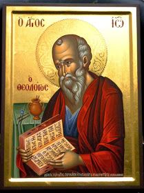 St. John the Evangelist and Theologian ( source )  The summit of the Apostles, the trumpet of theology, the spiritual general, who m...