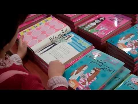 Discover a book for young readers with her author Ana García-Siñeriz. La Banda de Zoé.