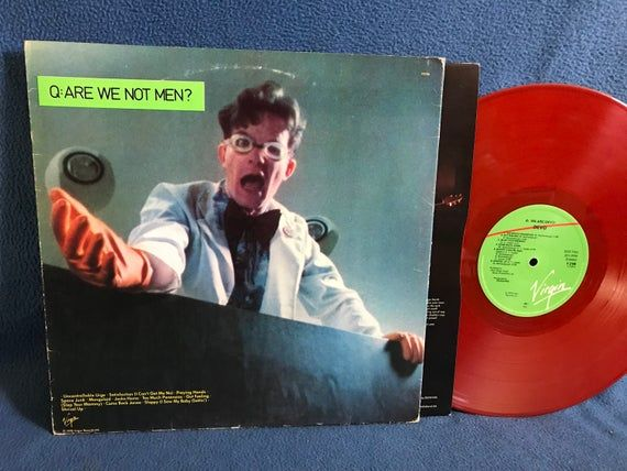 Rare Vintage Devo Q Are We Not Men A We Are Devo Vinyl Lp Record Album Original Red 1978 U Vinyl Sales Are We Not Men Star Vinyl