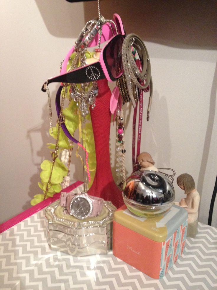 My Jewellery doll is overflowing!