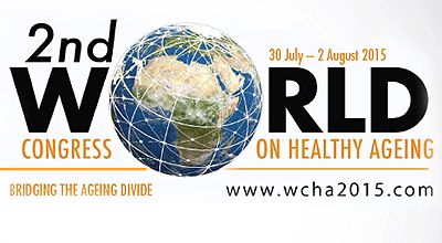 If you want to live a longer, healthier, and a more fulfilling life, then don't miss out on the 2015 World Congress on Healthy Ageing.#‎health‬ #Joburg #Joburgcoza #ThingsToDoJoburg  #ThingsToDo