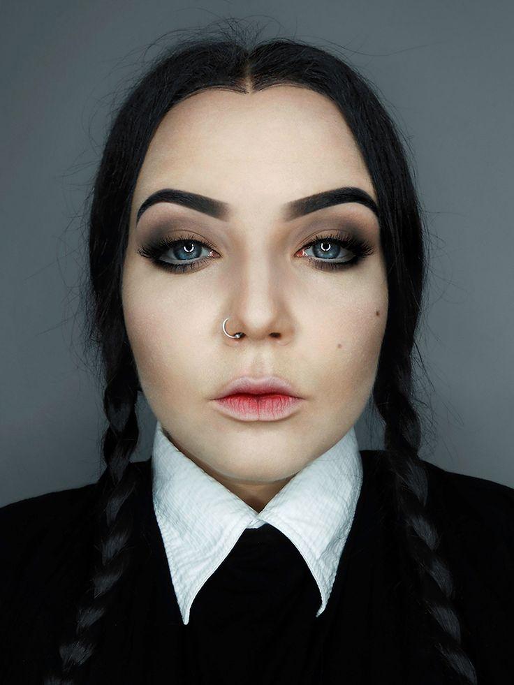 Wednesday Addams inspired by iskesib.deviantart.com on @DeviantArt