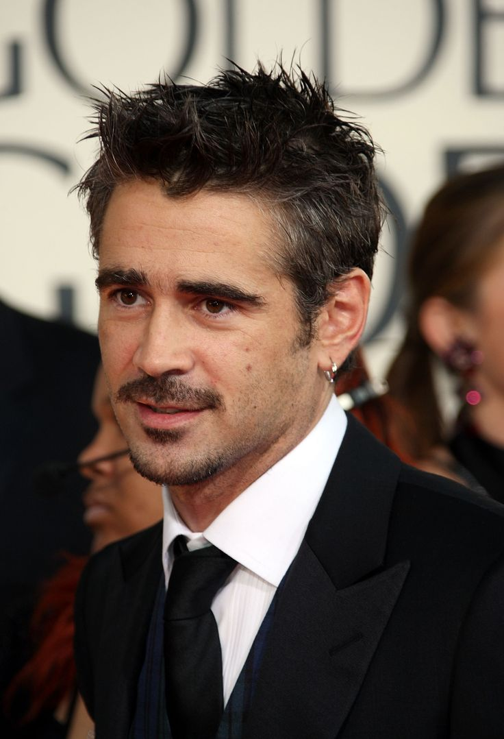 Colin Farrell (2009) Photo Credit: Getty Images                            Colin Farrell (2009) Photo Credit: Getty Images - via StyleList Make a difference! Be sure to visit and LIKE our Facebook page at https://www.facebook.com/drmurraymovember