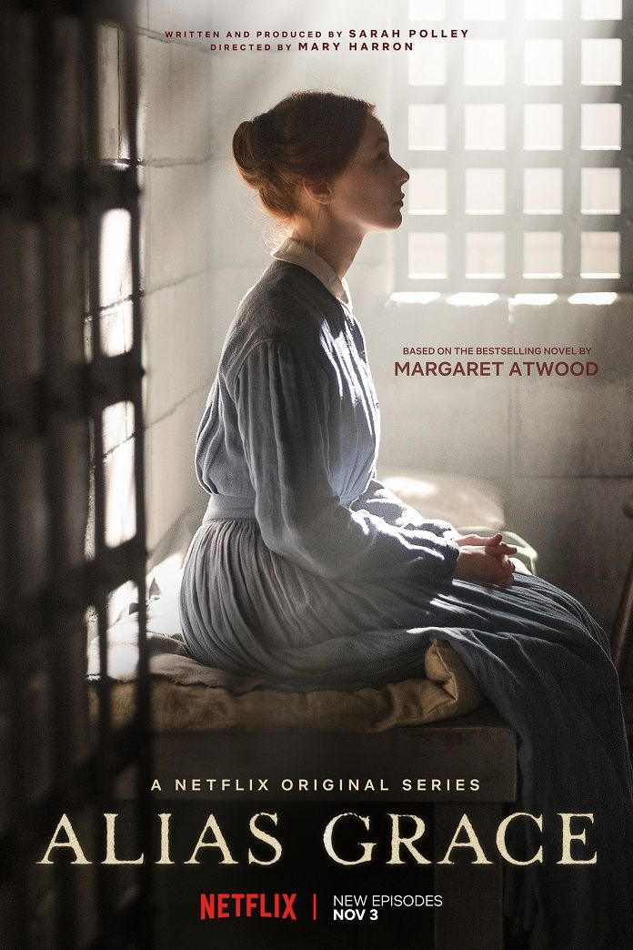 Alias Grace Debuts a Trailer and Poster with Sarah Gadon