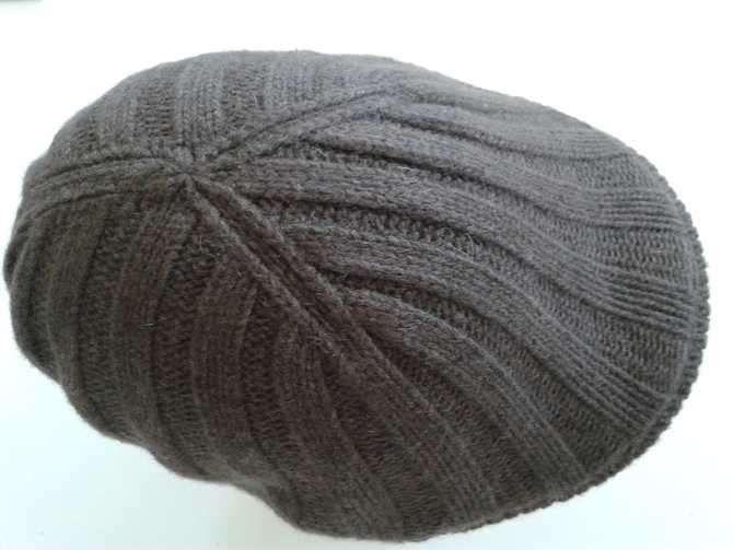 Cappelli di lana ai ferri da uomo (Foto)   Tempo Libero PourFemme