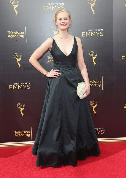 Actress Janet Varney attends the 2016 Creative Arts Emmy Awards at Microsoft…