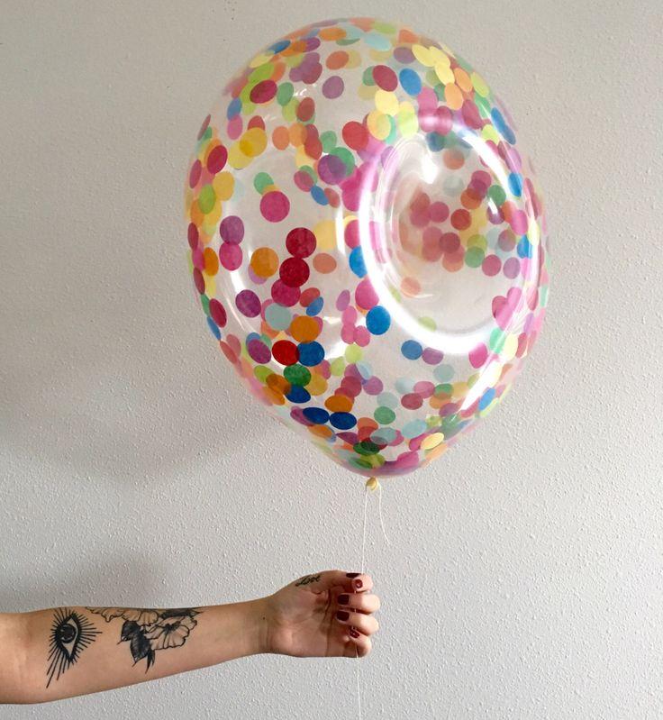 Donut Confetti Balloon 16 inch pre