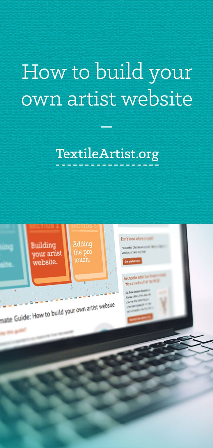 The Ultimate Guide: How to build your own artist website