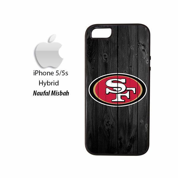 San Francisco 49ers Custom iPhone 5/5s HYBRID Case Cover