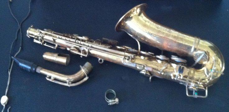 H Selmer Saxophone Alto Vtg Modele 22 No. 2234 Mouthpiece For Parts As Is  #HSelmer