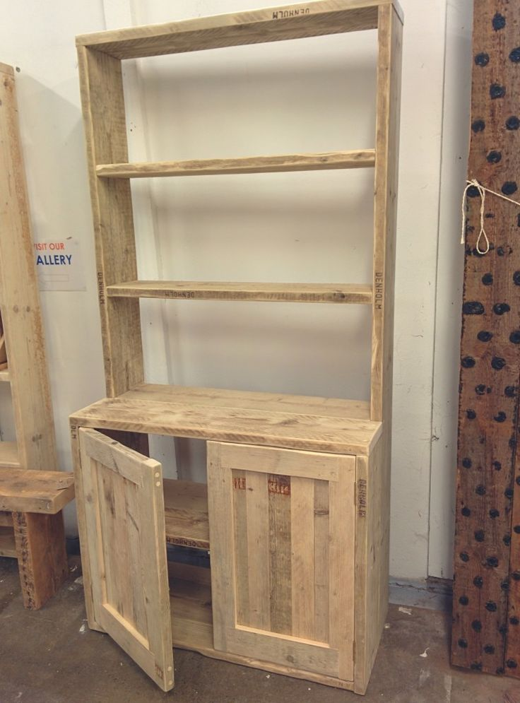 Steigerhouten kast maken