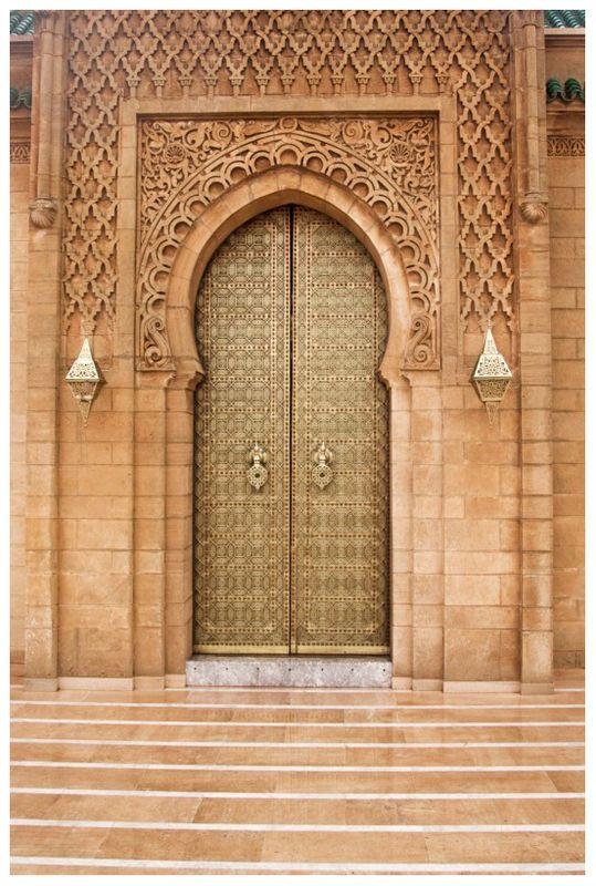 Porte de Mosquée - Rabat (Maroc) - Crédit Photo : PhotoBruno