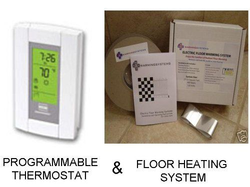 Electric radiant floor heating thermostat gurus floor for Best heating system for home