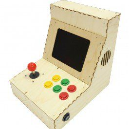 Arcade Machine Kit for the Raspberry Pi with Configured Retropie OS