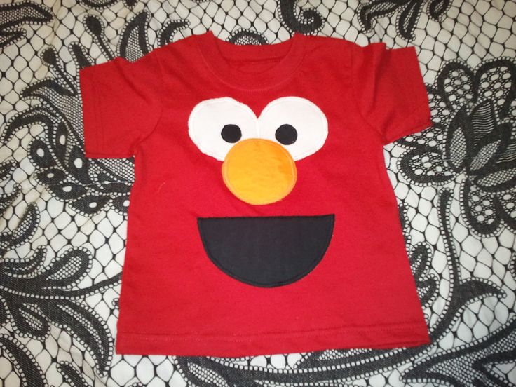 Elmo Decorations For 1st Birthday | Party Elmo tee | First Birthday Party Ideas