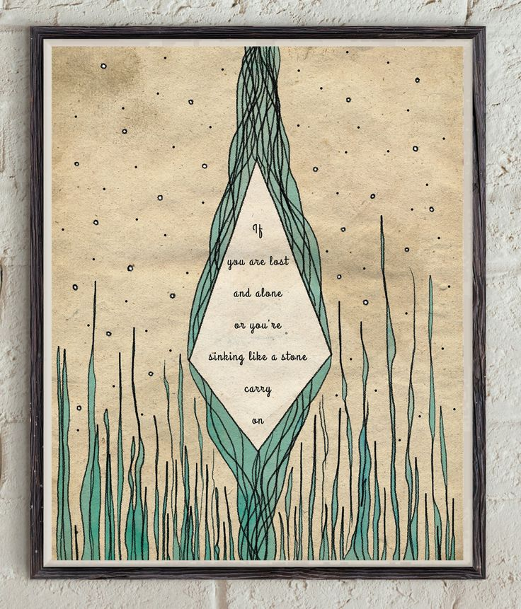 Carry On - Song Lyrics - Fun Band - Nate Ruess - Inspirational Song - Lyrics Quote - Music Print - Lyrics Wall Art - Geometric Poster by Lepetitchaperon on Etsy