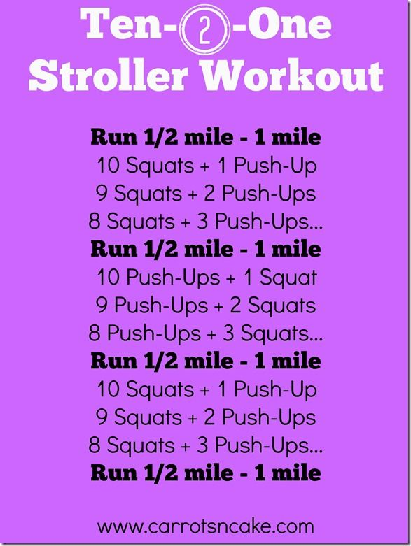 Ten-2-One Stroller Workout