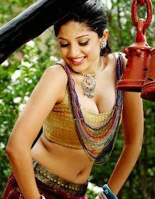 South Indian Actress Poonam Kaur Hot Navel Show