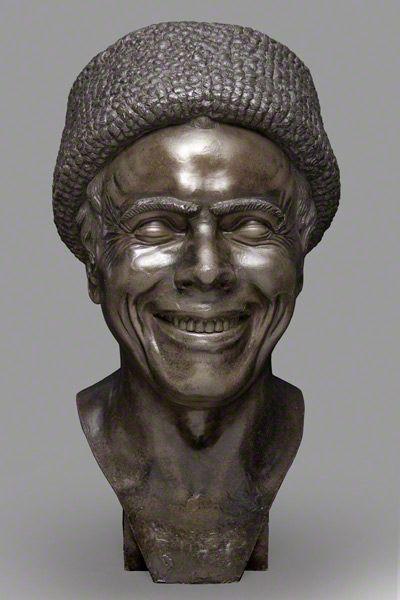 The Artist as He Imagined Himself Laughing / Messerschmidt