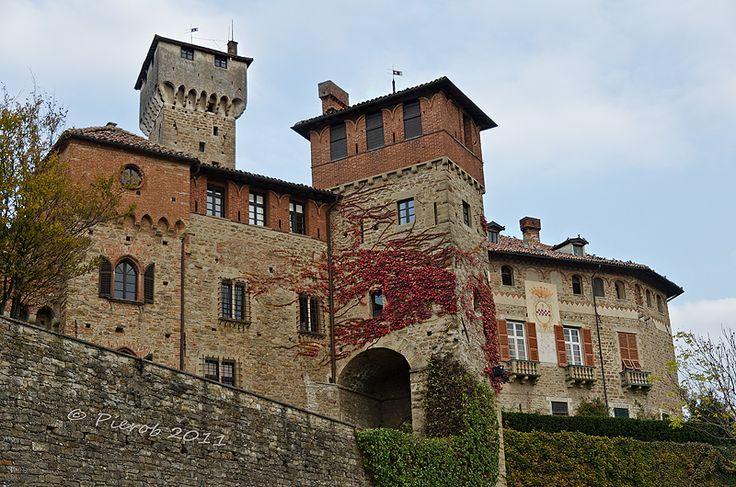 Il castello di #Tagliolo - Monferrato, #Alessandria, Piemonte