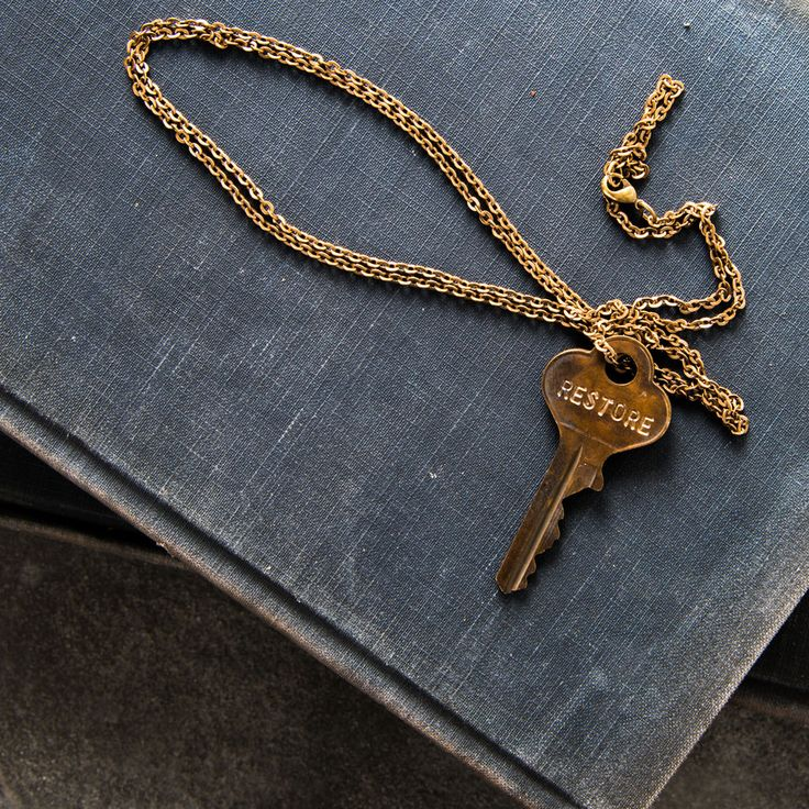 """Restore"" Giving Keys Necklace                                                                                                                                                                                 More"