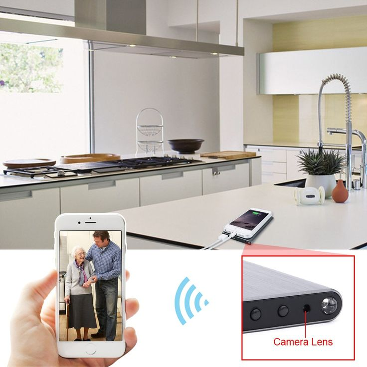 70% Off Wifi Network Spy Camera Power Bank with Audio Record Function Support iPhone Android APP Remote View #powerbank #spy