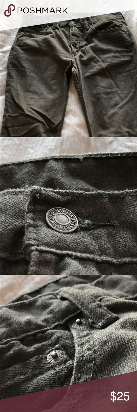Levi's Strauss & Co 511 Pants Size 34W 32L Used For sale is a pair of used Levi's Strauss & Co 511 pants size 34W 32L. Grey in color. Levis Strauss & Co Jeans Slim Straight