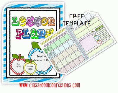 FREE Editable Lesson Plan Template A Room With CLASS Pinterest
