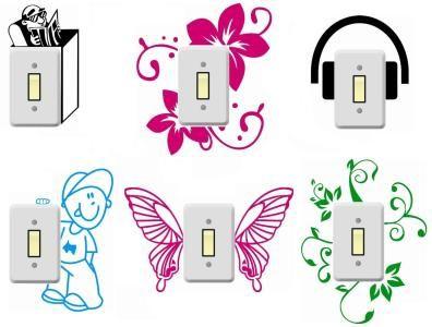 ideias-adesivos-artesanatos-interruptor