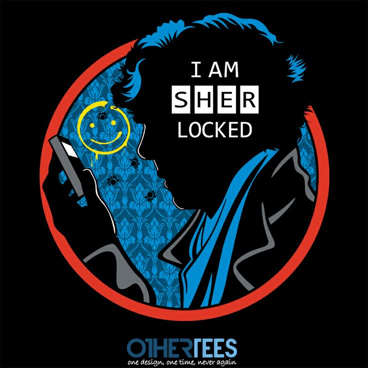 Detective Sherlocked by Olipop Shirt on sale until 26 March on http://othertees.com #sherlock
