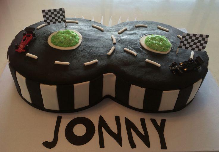 #racingtrackcake