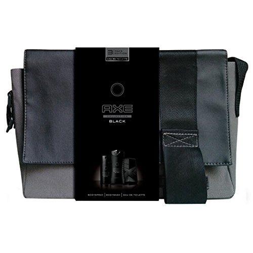 Axe Coffret Cadeau Sacoche Black Eau de Toilette Déodorant avec Gel Douche pour Homme #Coffret #Cadeau #Sacoche #Black #Toilette #Déodorant #avec #Douche #pour #Homme
