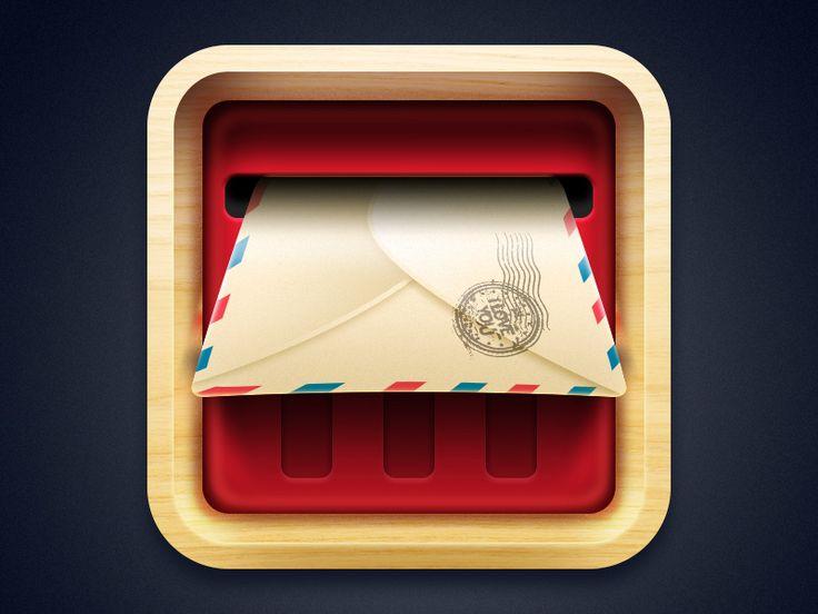 Email icon - ICONFANS|图标粉丝网|专业图标界面设计论坛,软件界面设计,图标制作下载,人机交互设计