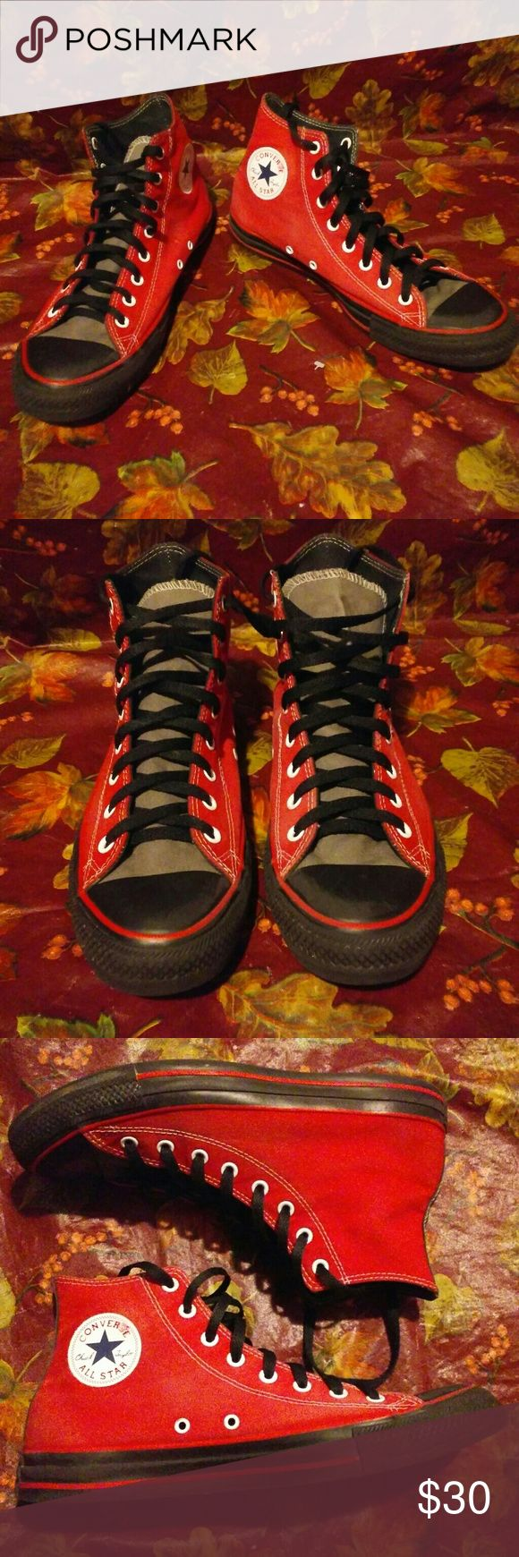 Red Converse All Star Chuck Taylor Size 11 Shoes! These shoes are in great shape. Made by Converse, a brand known for quality. They are red and a size 11 in mens. Converse Sneakers. Converse Shoes Sneakers