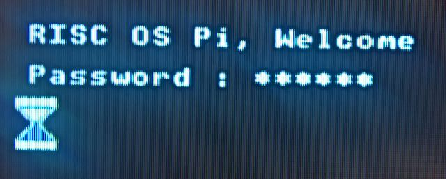 A password for RISC OS  Recently I set up my Raspberry Pi to boot into RISC OS Pi and I also showed you how to set a password for your Raspberry Pi for when it boots into Raspbian. Although it is possible to set a password for your RISC OS Pi computer horrible things happened last time I tried and that resulted in a reinstall. I am not going to try again. Instead I have written a BASIC program that performs the same operation. The file is set to run as soon as the computer boots and it is…