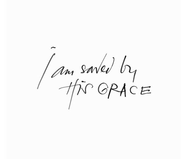 by His grace we are free ♡