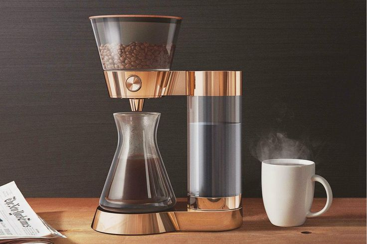 2016 Resolution: Up my coffee game. Solution: Poppy. This beautiul machine talks with an app, letting you schedule your pour overs and automatically ordering coffee supplies through Amazon. #fance #iwantdis | #NettedStaffPicks