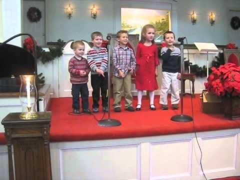Preschool choir Away in the Manger gone bad | Choir ...