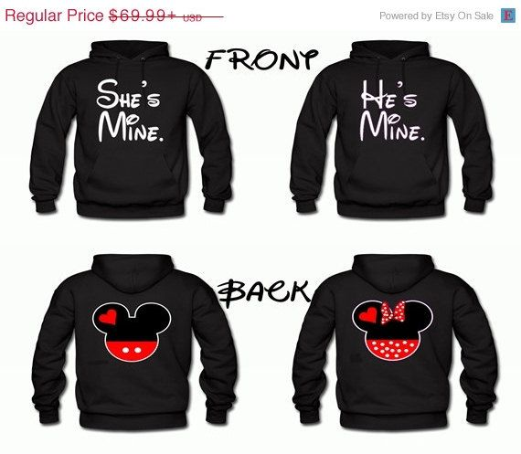 NEED matching disney sweaters for V-day at disneyland!! These are by far the favorite ! :))