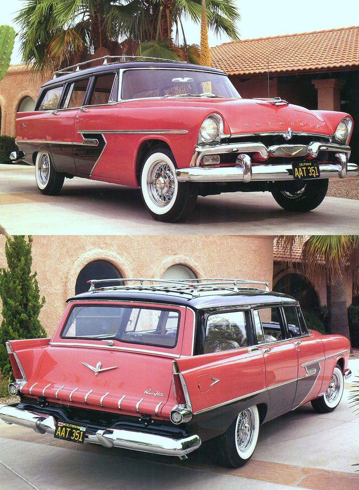 132 best Plymouth: 1955 - 1958 images on Pinterest | Mopar, Vintage ...