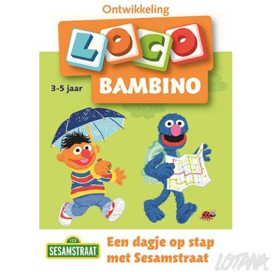 Bambino Loco boekje - Een dagje op stap met Sesamstraat (3-5 jaar)