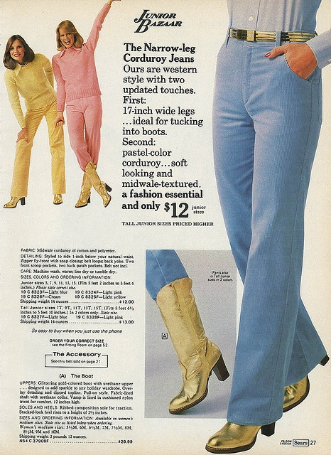 from the Sears 1977 Wishbook