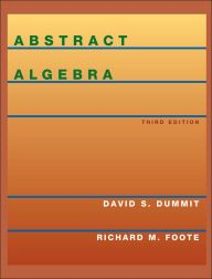 Abstract Algebra / Edition 3 by David S. Dummit Download