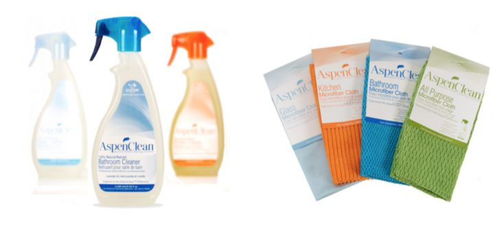 Aspenclean natural home cleaning products giveaway for Sustainable home products