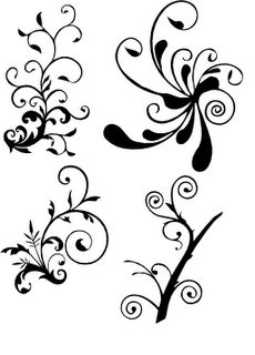 More Flourishes - SVG Freebie
