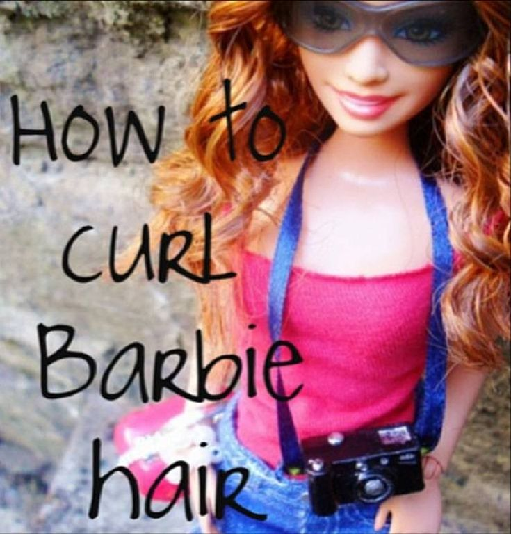 How To Curl Barbie Hair