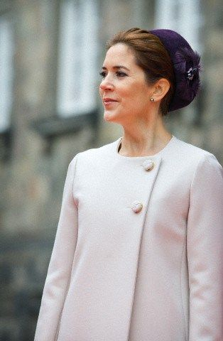 royalhats:  Danish State Opening of Parliament, October 7, 2014-Crown Princess Mary
